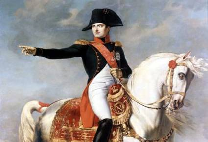 The most or second most famous Multitasker in history, Mr. Bonaparte