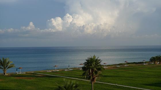 nice at natura beach, cyprus