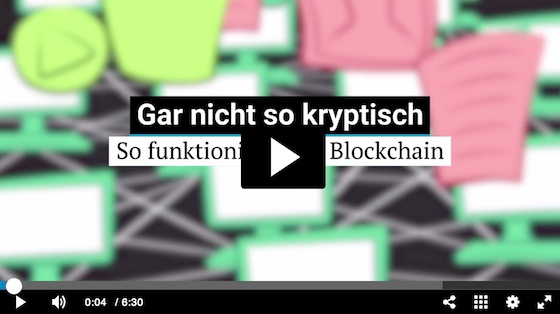 Blockchain - Explained by Neue Zürcher Zeitung