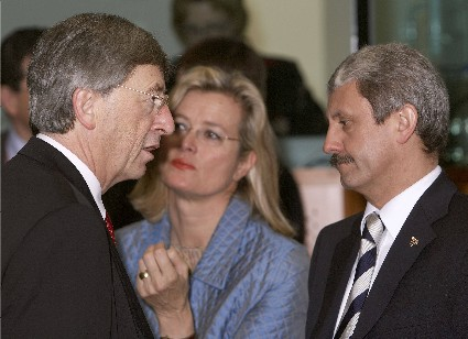 Plassnik und Juncker