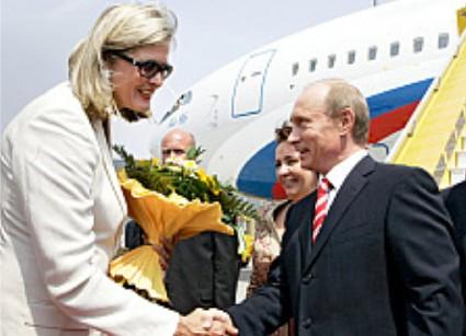 Plassnik und Putin