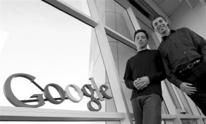 The Google Founders, converting an implementation of statistics into money