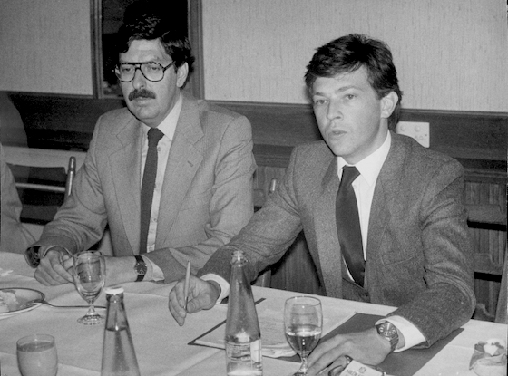 Norbert Steger, Vize, Jörg Haider, Rebell