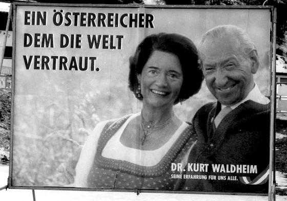 Dr. Kurt Waldheim - Wahlplakat
