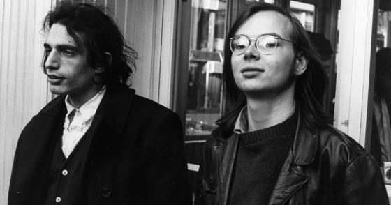 Don Fagen and Walter Becker in younger years