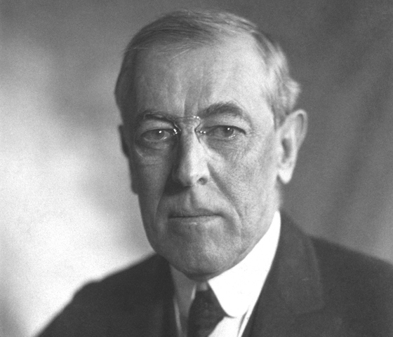 Thomas Woodrow Wilson, amerikanischer Präsident