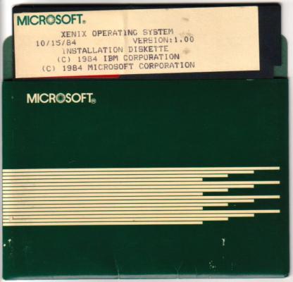 MS XENIX 1.0