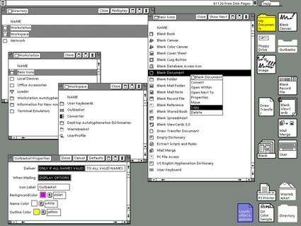 The Xerox Star Interface