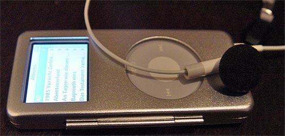 eine hülle für das ipod-nano