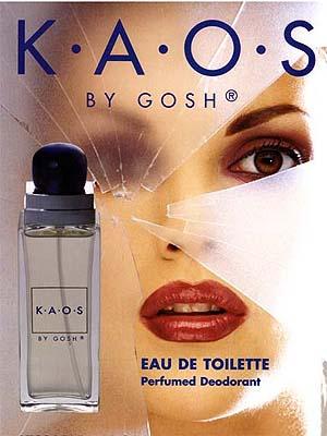 kaos parfum