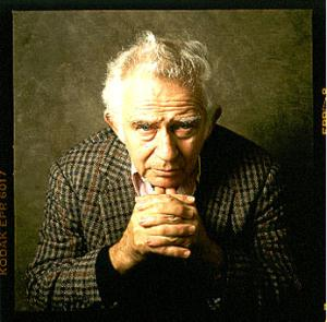 Norman Mailer. Fotografía de William Coupon.