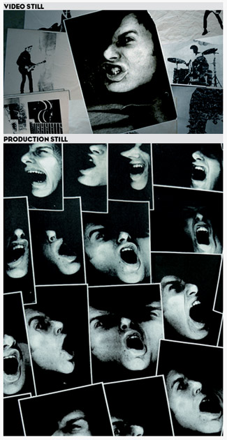 VIDEO STILL PLUS ONE PRODUCTION PHOTOGRAPH OF THE PHOTOCOPIES