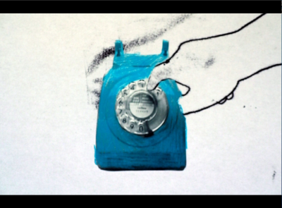 shot from the nacional video telephone.
