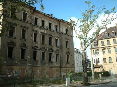 Ruine an der Tharandter Str.