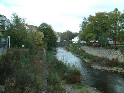 Weißeritz, Brücke Oederaner Str.