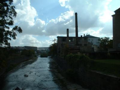 alte Fabriken an der Weißeritz