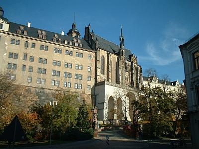 Altenburg, Schloss und Schlosskirche