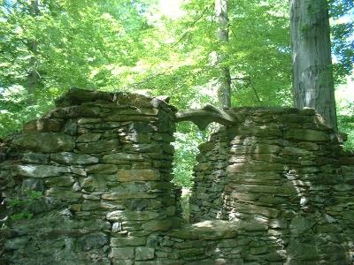Altzella, Ruine im Klosterpark