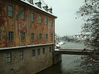 Am Rathaus Bamberg, Winter
