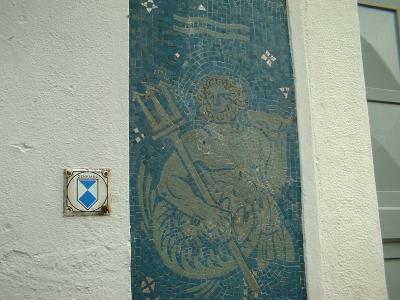 Wassermann an der Christuskirche Bischofswerda