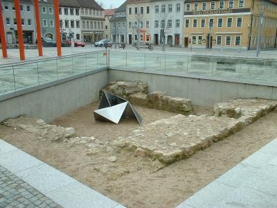 Bischofswerda, Grundmauern des Alten Rathauses