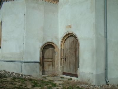 Gut Gamig, Kirche, Eingang