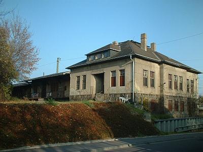 Coswig, ehemalige Güterabfertigung
