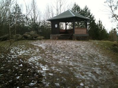 Schutzhütte auf dem Spitzberg bei Coswig