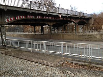 Eisenbahnunterführung Stauffenbergallee