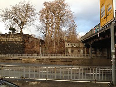 Kleingartensparte Friedenswacht an der Stauffenbergallee