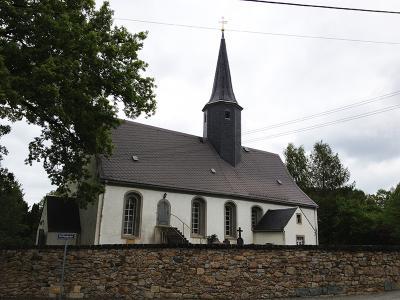 Kirche in Höckendorf (Laußnitz), Alter unbekannt, barocker Umbau