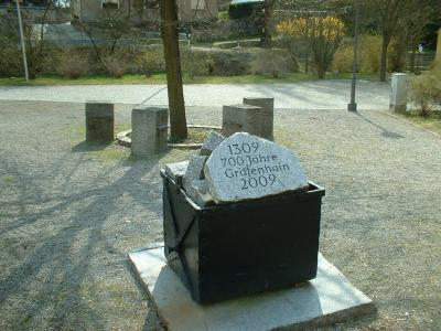 Denkmal für die Steinbruch-Seilbahn in Gräfenhain