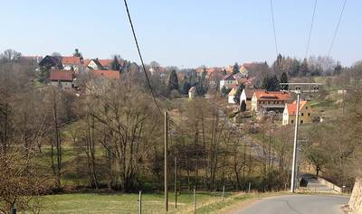 Kleinschönberg am Prinzbach. linkselbische Täler