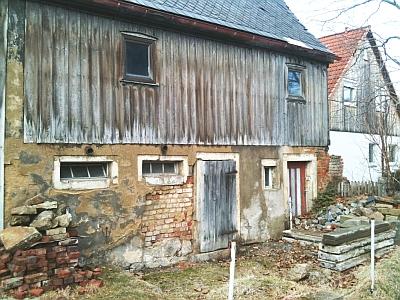 verfallenes Wohn-Stall-Gebäude in Seeligstadt