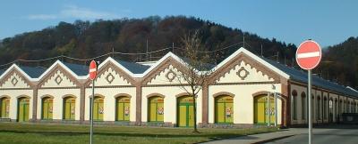 Weißeritzpark in der alten Spinnerei Coßmannsdorf