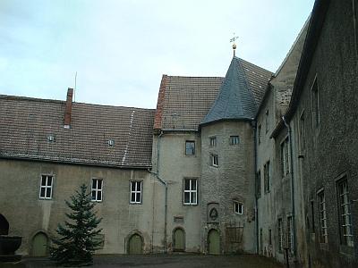Rothschönberg, Schloss, Innenhof