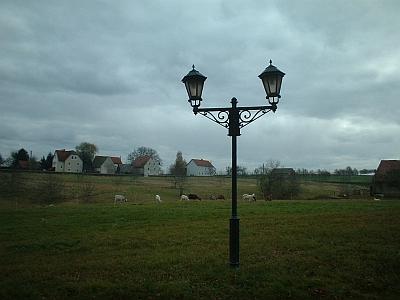 Rothschönberg, Kandelaber auf der Schafweide