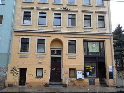 Rudolfstraße, Häuser mit oberirdischem Kellergeschoss
