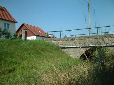 unter der Brücke in Dittersbach