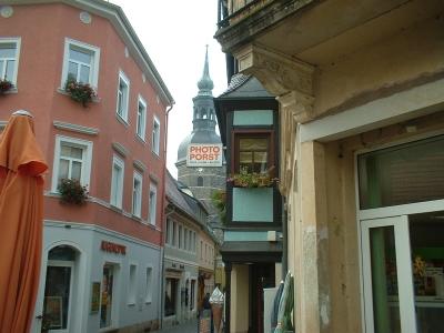 Gasse in Bad Schandau