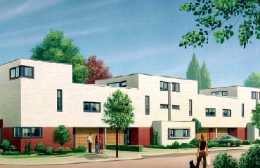 Een nieuwbouw project bij Heerlen