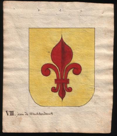 Wapen van Jean de Wachtendonck